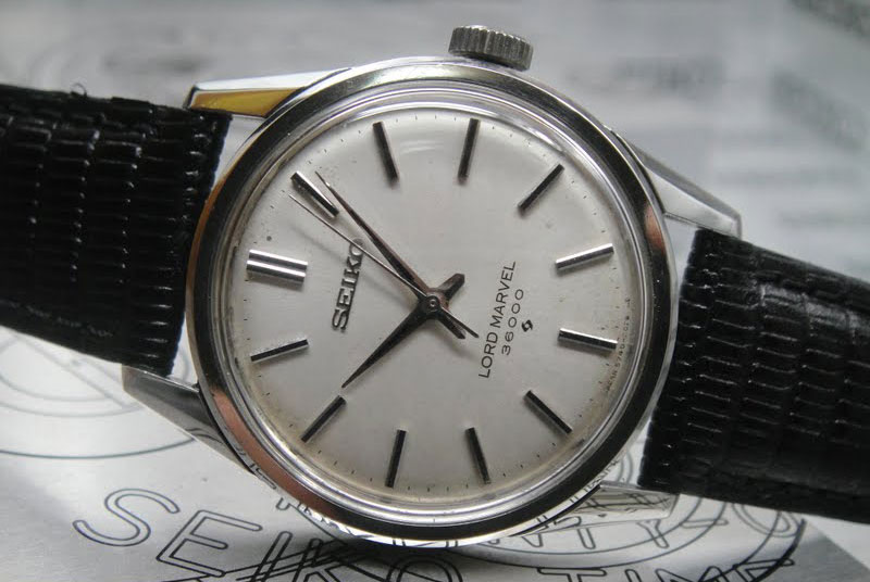 Seiko Lord Marvel hi-beat