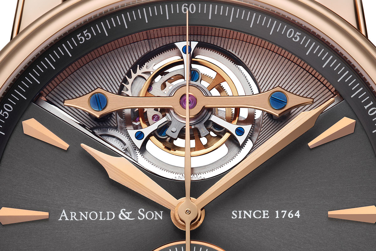 Pre Baselworld 2014: Introducing the Arnold & Son Royal TEC1 – Technically Advanced Tourbillon Chronograph