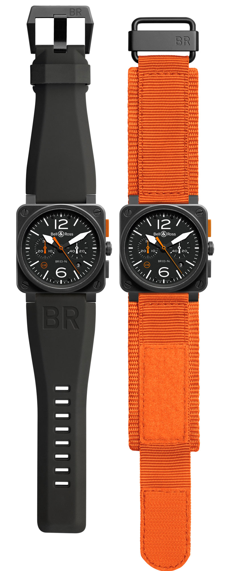 Instrument Critical: Bell & Ross BR 03-94 Carbon Orange