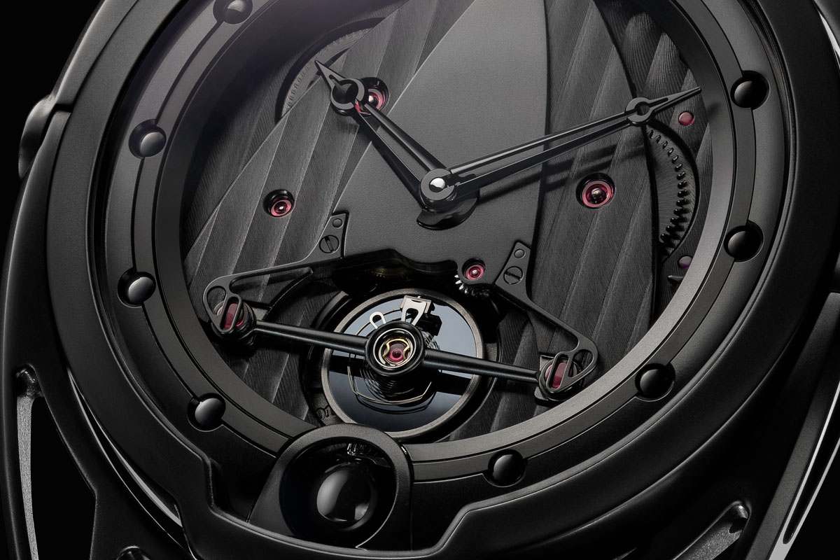 Pre Baselworld 2014: Introducing the De Bethune DB28 Dark Shadows