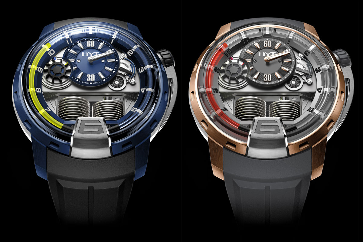 LOTS of New HYT H1 and H2 models for Baselworld 2014