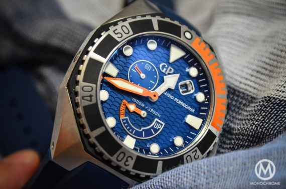Girard-Perregaux Sea-Hawk Blue