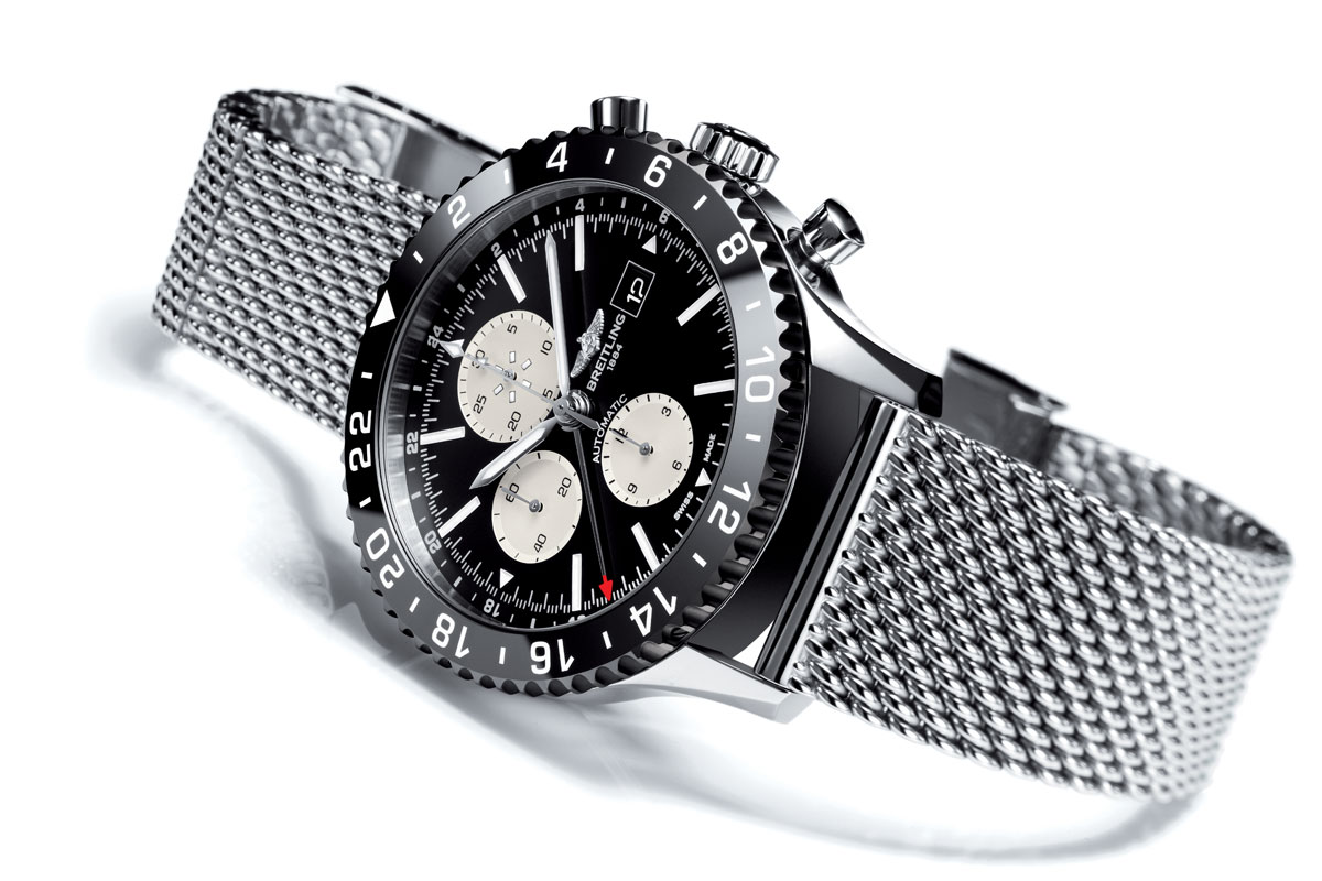 Pre Baselworld 2015: Introducing the Breitling Chronoliner