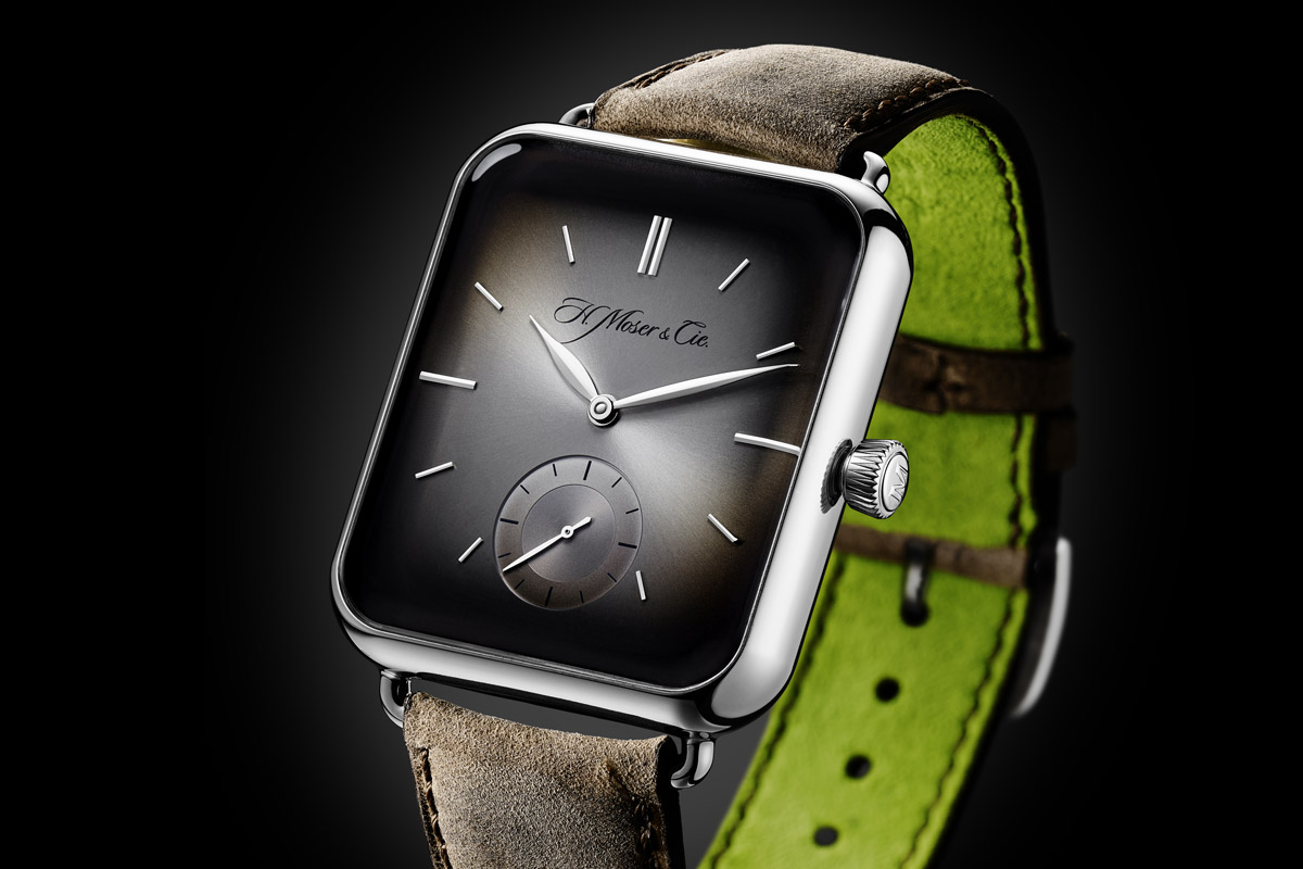 COLUMN – An Apple by any other name is a Moser? A look at the H. Moser & Cie Swiss Alp Watch