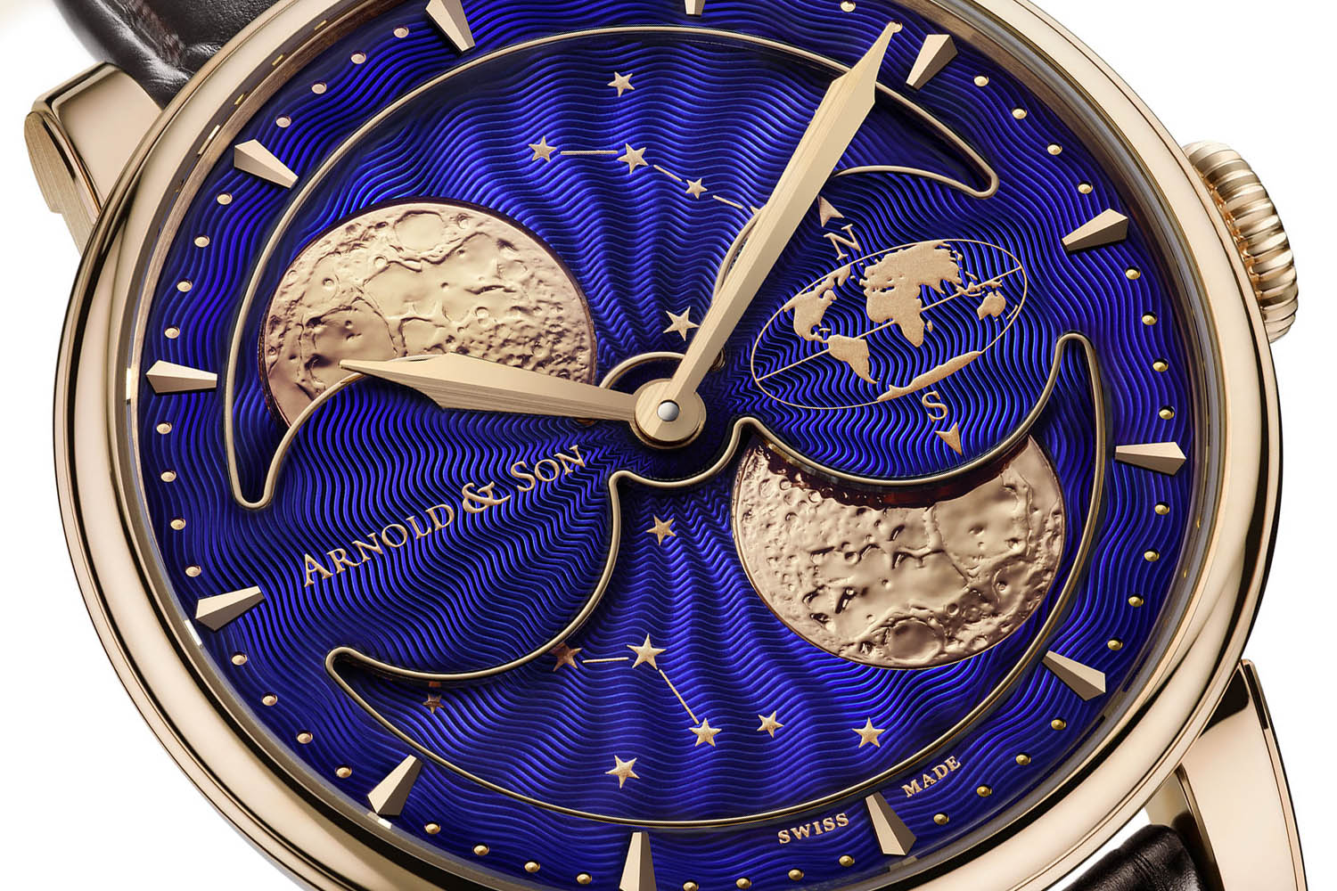 Pre-Baselworld 2016 – Arnold and Son HM Double Hemisphere Perpetual Moon (specs & price)