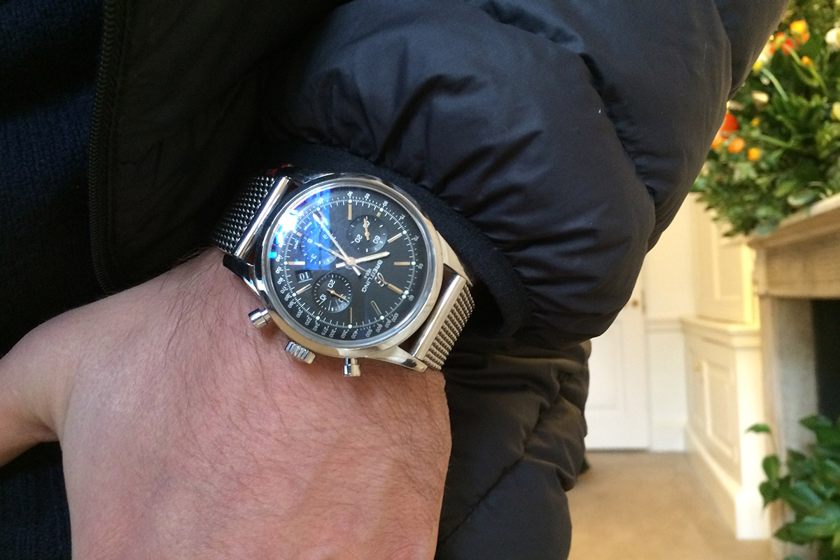 The Collector's Series – a Londoner Gentleman and his Breitling Transocean Chronograph