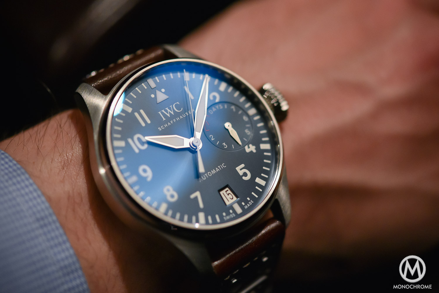 SIHH 2016 – Hands-on with the new IWC Big Pilot's Watch Edition 'Le Petit Prince' ref. IW500916 – Live pics & price