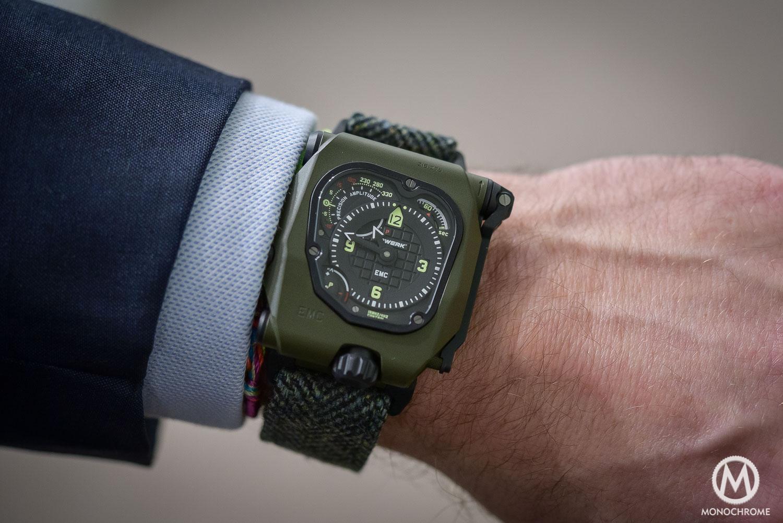 Explaining the URWERK EMC Time Hunter – Review (live pics, specs & price)