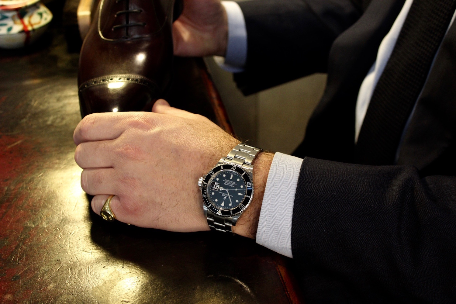 The Collector's Series – Dean Girling (one half shoemaker Gaziano & Girling) and his Rolex Submariner 16610