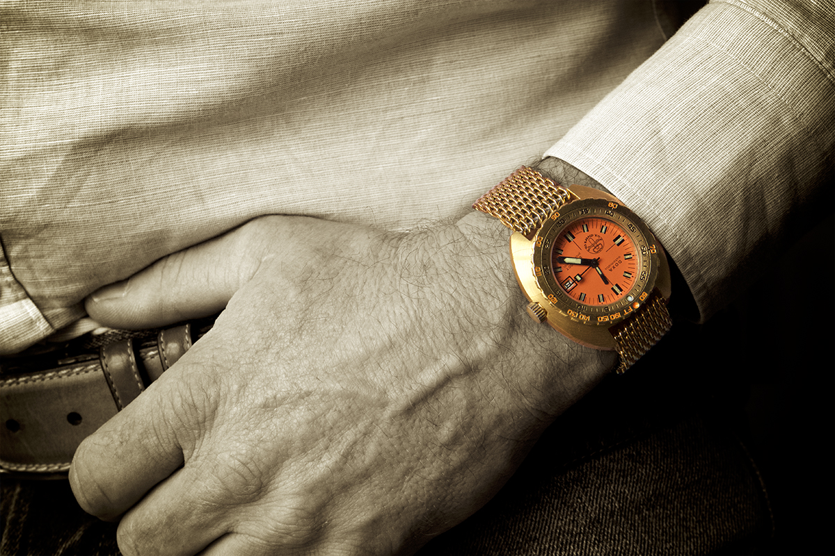 The Collector's Series – Diver Marco Thier and his possibly unique Golden Doxa Sub 300