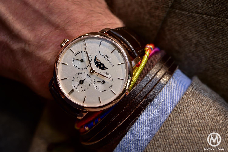 Hands-on review – Frederique Constant Manufacture Perpetual Calendar, a QP priced under €8,000 (Live photos)