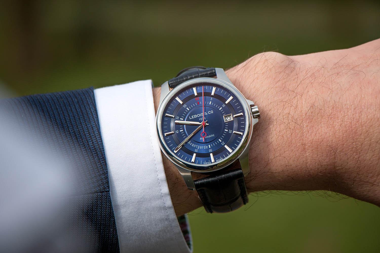 Kickstarter Campaign – Lebois & Co Avantgarde Date – The Re-launch Edition, now in blue