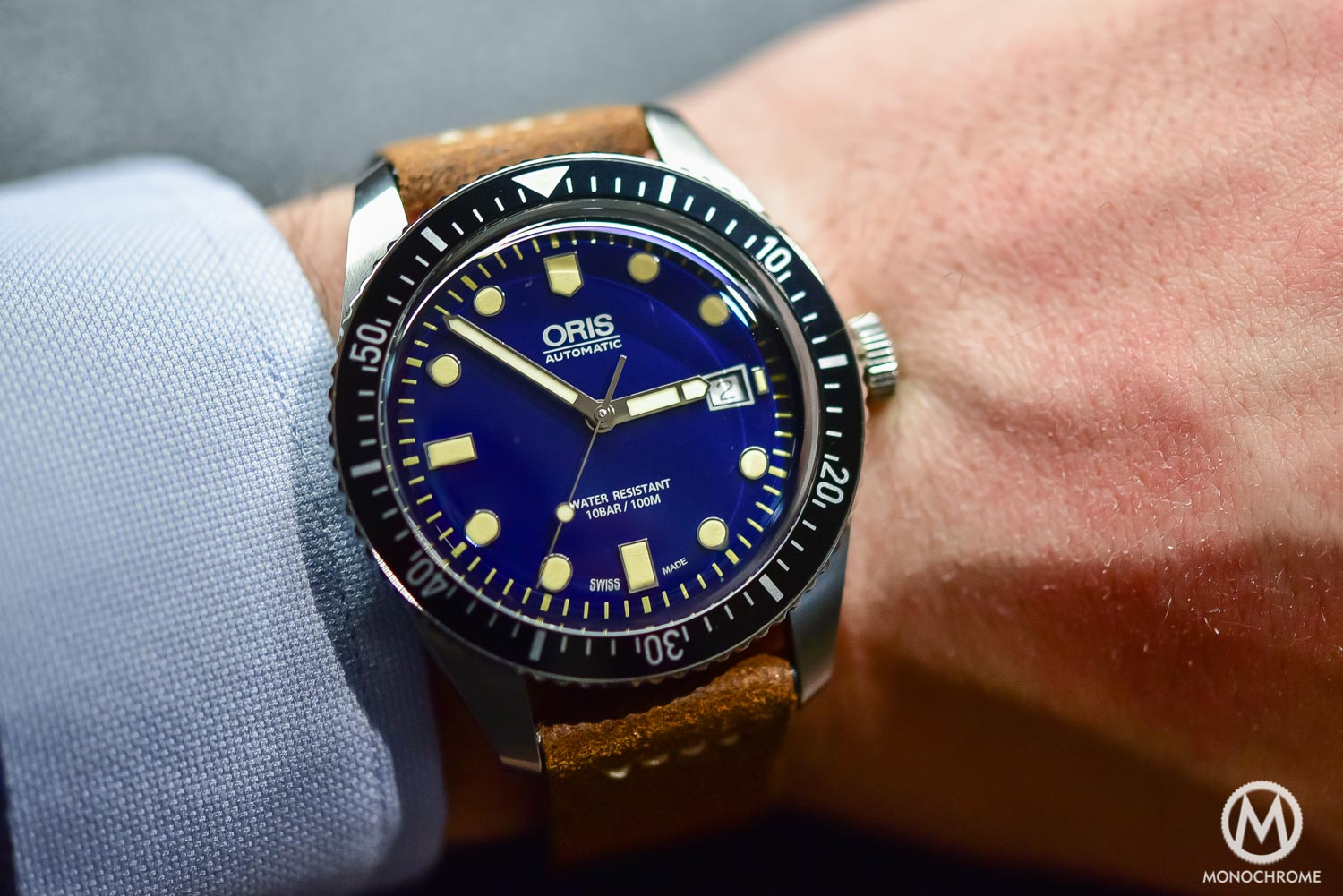 Introducing – Oris Divers Sixty Five, now in 42mm, with Blue Dial and Riveted Bracelet (hands-on with live photos & price)