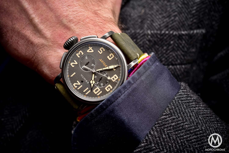 Hands-on – Zenith Heritage Pilot Cafe Racer Spirit with El Primero Chronograph (live pics & price)