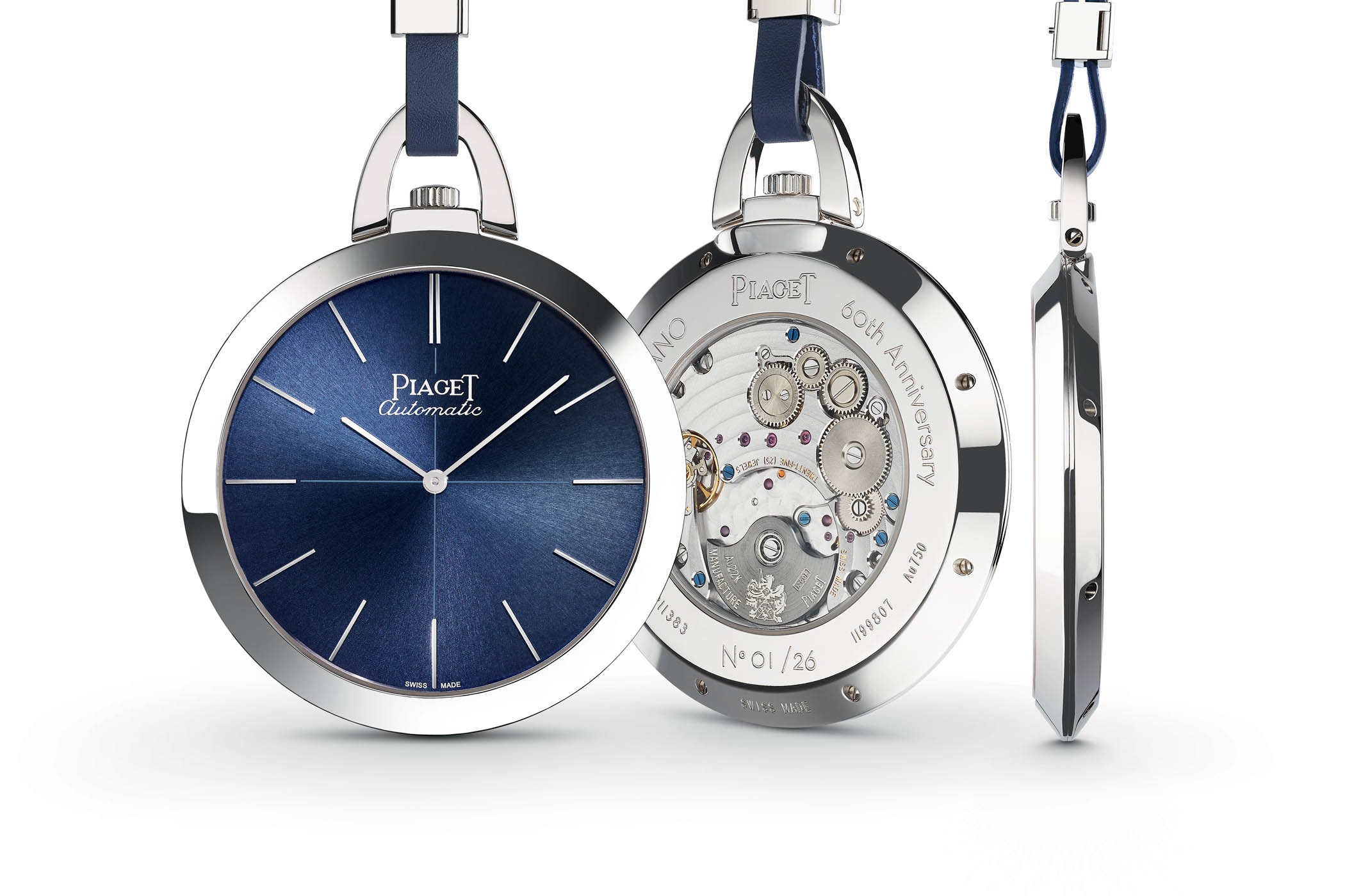 Introducing piaget altiplano 60th anniversary pocket watch for Altiplano watches
