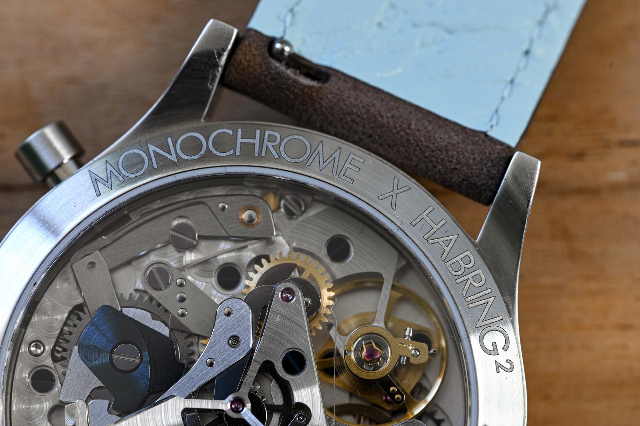 monochrome montre de souscription by habring